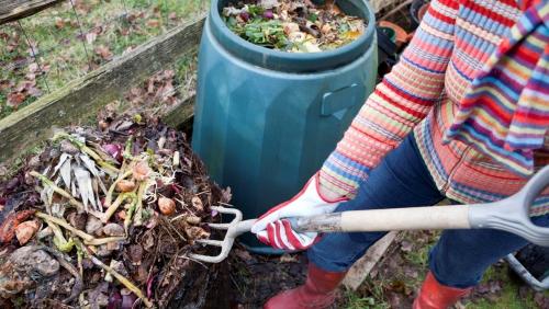 Compost método aeróbico - Imagen