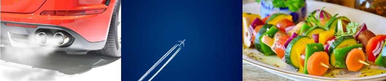 Coche, Avión y Plantas - Imagen